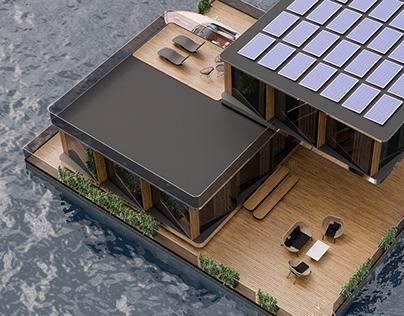 Wateround House