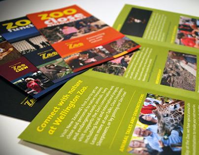 Wellington Zoo Brochures