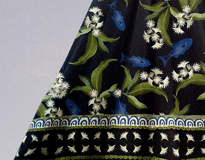 Assa-peixe | medicinal plant pattern