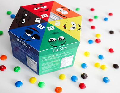 M&M packaging