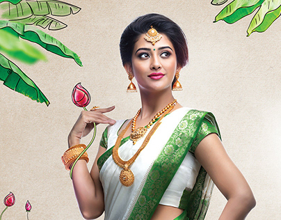 BHIMA AND BROTHER Wedding jewellery collection ad