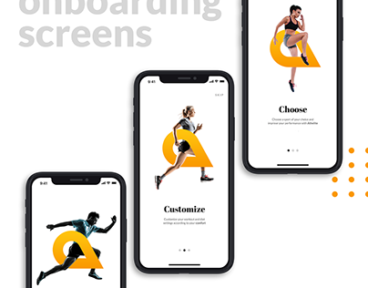 Athelite - Fitness app for athletes | UI/UX | UI Design
