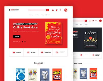 Bookplanet Web UI