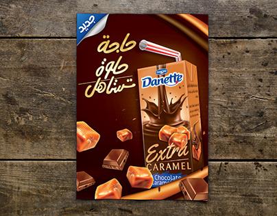Danette Extra Caramel POSM Official Campaign