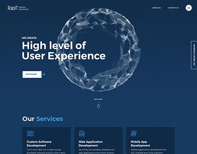 Digital Agency Web UI Design