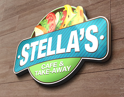 Stellas Cafe Rebranding