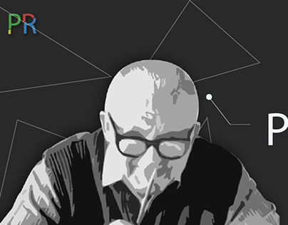 A website concept for Paul Rand