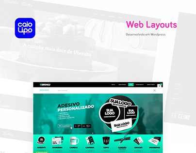 Website Layouts - Mutiple Themes