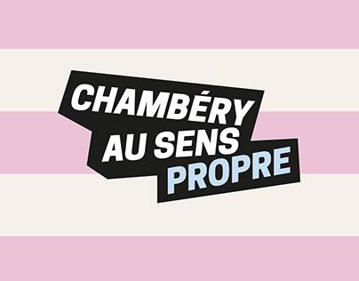 Chambéry au sens propre | Campagne de communication