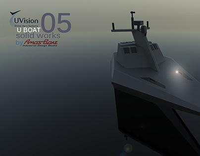 U Vision autonomus Boat
