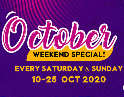ONESHOP X Maybank October Weekend Special