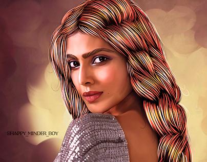 Malavika Mohan Digital art