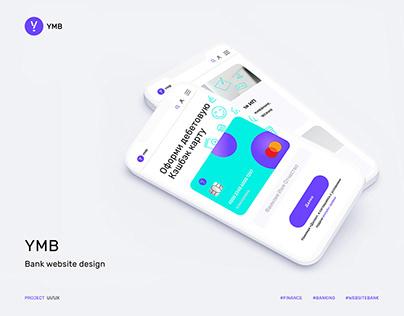 Bank branding/website