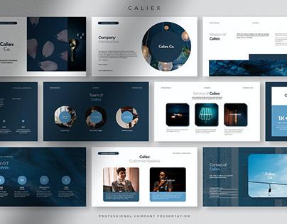 Caliex - Elegant Professional Company Presentation