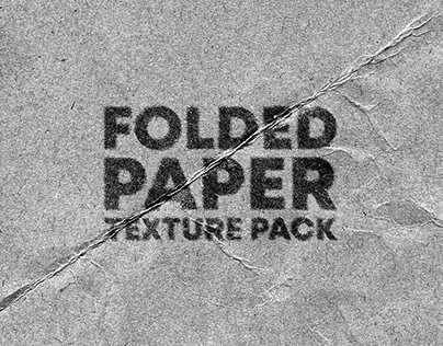 FOLDED PAPER TEXTURE PACK VOL. 2