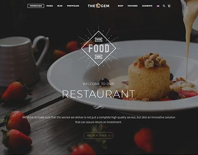 TheGem - Restaurant Theme Template