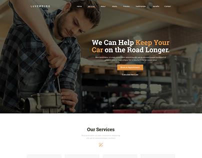 Mechanic Professional - Responsive WordPress Theme