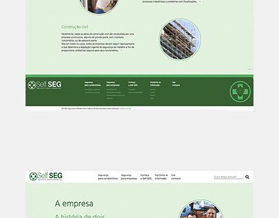 Projeto: Self-Seg | Desenvolvimento de site