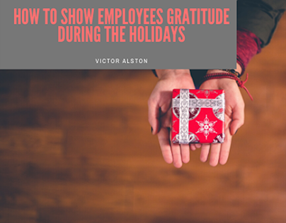 How to Show Employees Gratitude During the Holidays