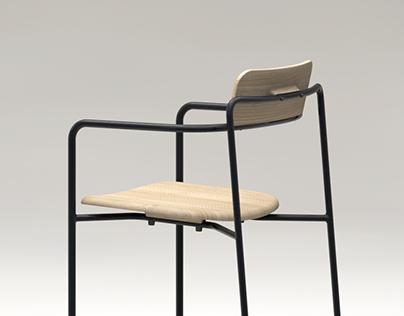 bridge chair/stool