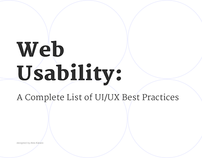 Best Practices of UX: Chapter 1