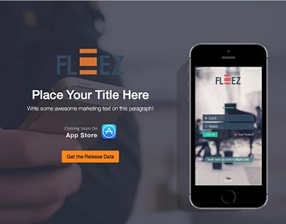 Fleez Responsive Single Landing page
