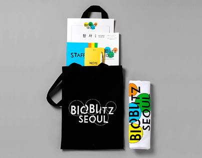 BioBlitz Seoul Brand Identity