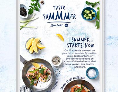 Taste Su'mmm'er Facebook Collection - Food Advertising