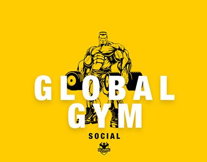Global Gym Social Media