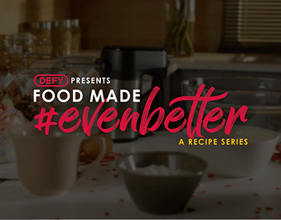Defy #FoodMadeEvenBetter - Video Recipe