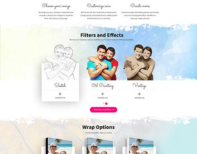 Full Laravel Website Design (UI/UX