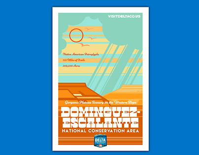 City of Delta Poster Series