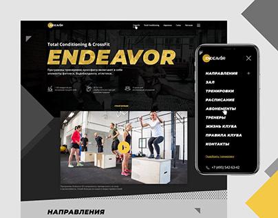 Endeavor 63 crossfit web site