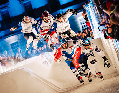 Red Bull Crashed Ice Belfast 2015