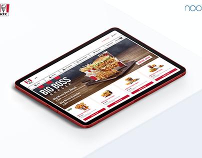 UX Design for KFC Middle East