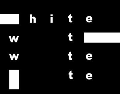 Black&White - Dynamic Poetry