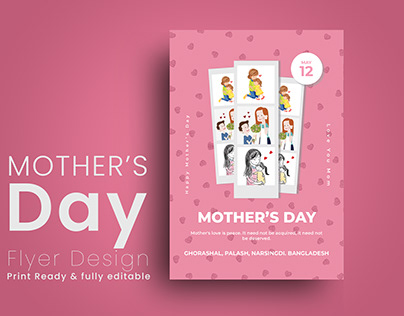 Mother's Day Flyer Design
