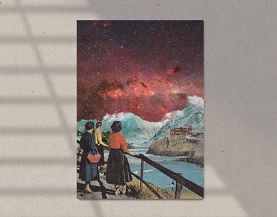 Wander - Custom poster design
