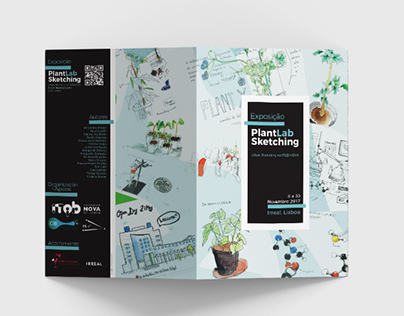 PlantLab Sketching Expo Flyer