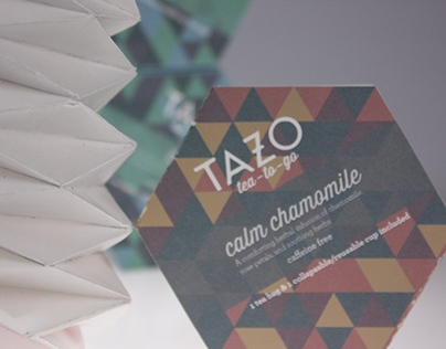 TAZO tea-to-go packaging