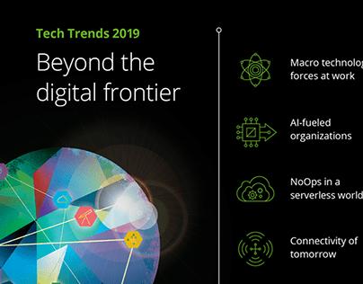 Deloitte Tech Trends Interactive Wall