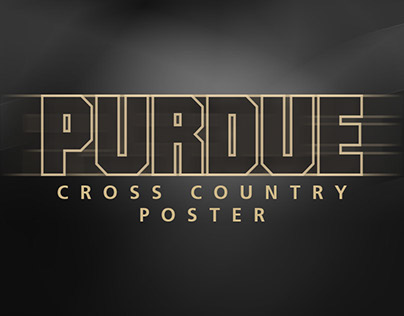 Purdue Cross Country Poster