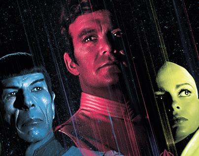 Star Trek: The Motion Picture Vinyl Album Cover Art