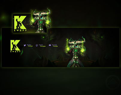 "Twitter Banner & Chatbox Overlay for Jacob ""Kwebb"""