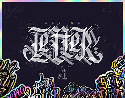 Let Me Letter You | #1