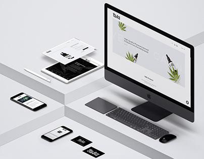 Webshop Building & Design for CBD company