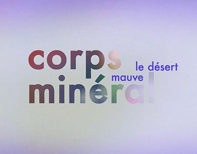 Teaser Corps Minéral