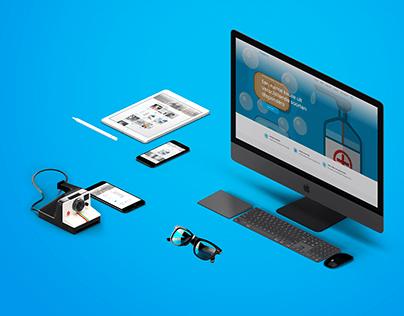 Dispenser Webshop Webdesign