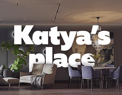 Katya's Place | Interior visualization