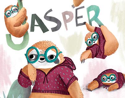 Jasper the sloth